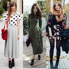 Dressing up like they used to be: Find out how to achieve a modern vintage look